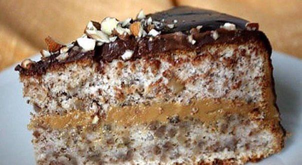 венесуэльский ореховый торт 1