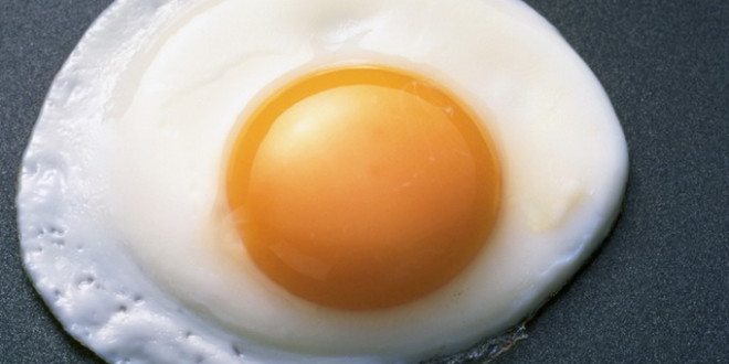 Sunny Side Up Egg Frying