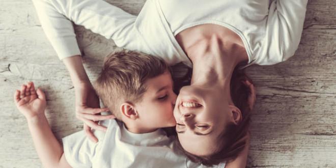 мать с сыном