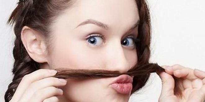 женские усы