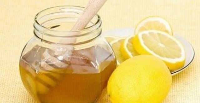 лимон с мёдом для лица