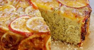 пирог с маком и апельсинами