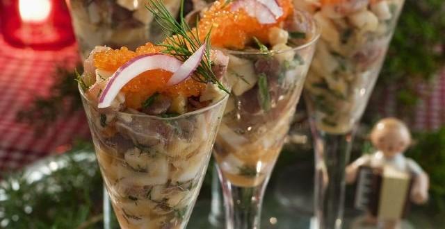 салат селёдочный коктель