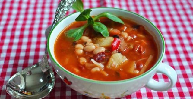 суп с фасолью по-гречески1