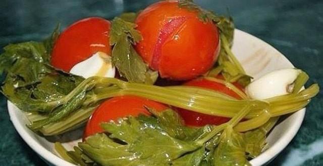 помидоры по-быстрому