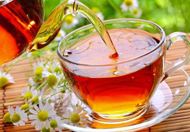 чай который превращается в цветок