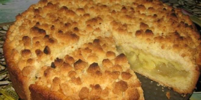 пирог с яблоками2