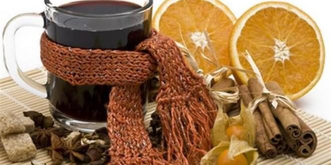 Целебные напитки от простуды