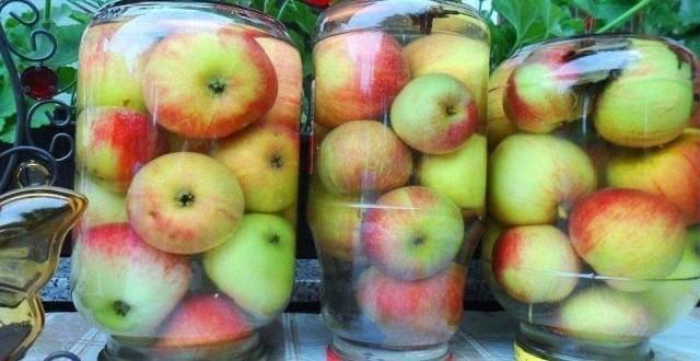 яблоки мочёные