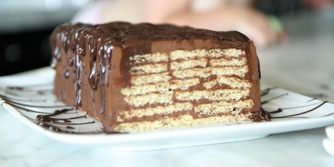 торты из печенья